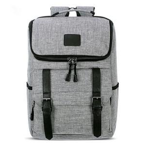 Universele multifunctionele 15.6 inch Laptop Schouderstas studenten Backpack voor MacBook  Samsung  Lenovo  Sony  Dell  Chuwi  Asus  HP  Afmetingen: 43 x 30 x 14 cm (grijs)