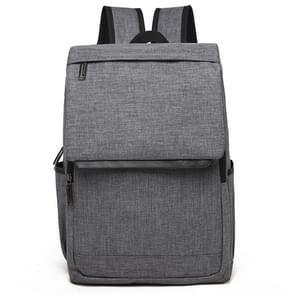Universele multifunctionele 15.6 inch Laptop Schouderstas studenten Backpack voor MacBook  Samsung  Lenovo  Sony  Dell  Chuwi  Asus  HP  Afmetingen: 42 x 30 x 12 cm (grijs)