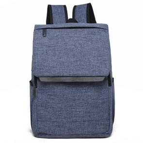 Universele multifunctionele 15.6 inch Laptop Schouderstas studenten Backpack voor MacBook  Samsung  Lenovo  Sony  Dell  Chuwi  Asus  HP  Afmetingen: 42 x 30 x 12 cm (blauw)