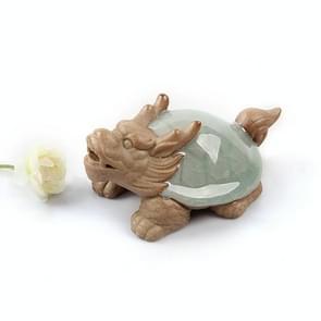 Dragon Turtle Shape Ceramic Tea Set Tea Pet Arts Crafts