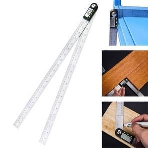 Digitaal Display Angle Finder Meter gradenboog Goniometer heerser  maatregel bereik: 500mm