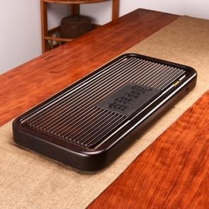 Huishoudelijke massief hout drainage type rechthoek thee dienblad thee tafel  het land van bossen en wateren  grootte: 55.5 x 24.5 x5cm