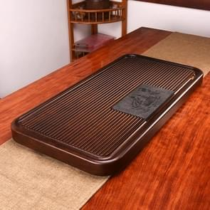 Household Solid Wood Drainage Type Rectangle Tea Tray Tea Table,The Land Of Woods And Waters, Size: 70.5x36x5cm