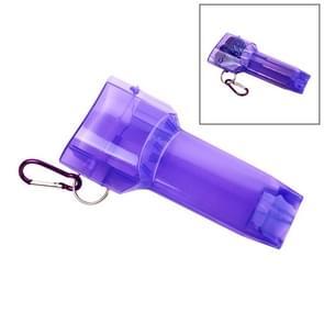 Sport draagbare Dart vak plastic transparante container opslag Darts geval met belangrijke gesp (paars)