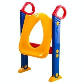 Opvouwbare Kid zindelijkheidstraining wc-bril met Ladder voor U-vormige of ovale Toilet