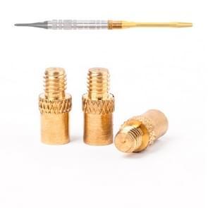 3 PC'S vervanging Professional 1.8 g 14mm Brass Dart gewichten toevoegen Accentuator Darts tool accessoires