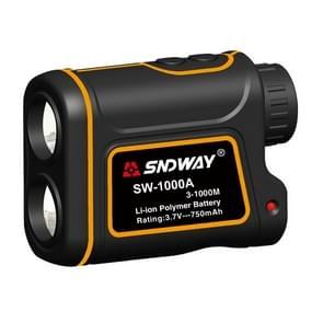 SNDWAY SW1000A Handheld Outdoor Waterproof Telescope Range Finder Distance Measurer, 1000m