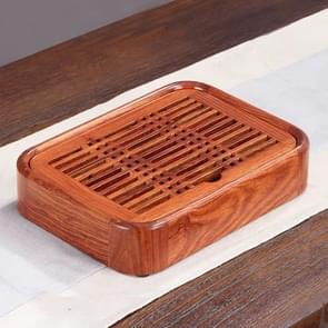 Household Rosewood Water Storage Tea Tray Kung Fu Teaware, Size: 26 x 19 x 5cm