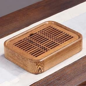 Household Wenge Water Storage Tea Tray Kung Fu Teaware, Size: 26 x 19 x 5cm