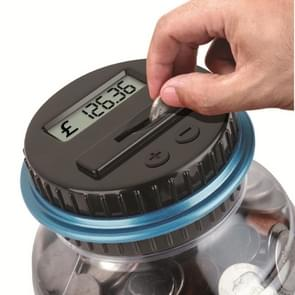 Digital Counting Money Coin Bank for Pound Sterling