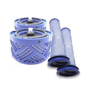 XD955 4 in 1 achterste filter kern + pre-filter voor Dyson V6 stofzuiger accessoires