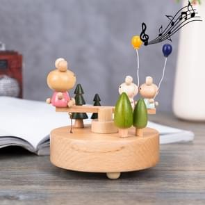 Seesaw Shape Home Decor Originality  Wooden Musical  Boxes