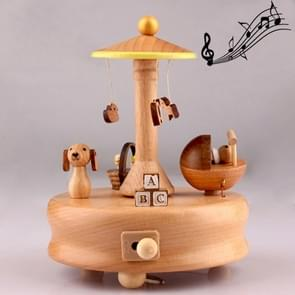 Baby Bed Shape Home Decor Originality  Wooden Musical  Boxes