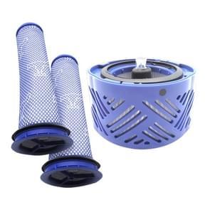 XD956 3 in 1 achterste filter kern + 2 x pre-filter voor Dyson V6 stofzuiger accessoires