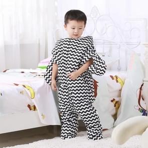 Schattig Starfish stijl Baby slapen kleding tas voor 0-6 maand Baby  maat: 85yard(Black)