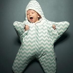 Schattig Starfish stijl Baby slapen kleding tas voor 0-6 maand Baby  maat: 85yard(Green)