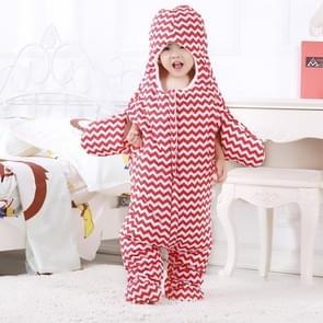 Schattig Starfish stijl Baby slapen kleding tas voor 0-6 maand Baby  maat: 85yard(Red)