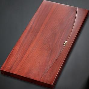 Household Rosewood Rectangle Tea Tray Tea Table, Flat, Size: 70x35x6cm