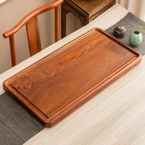 Household Rosewood Rectangle Tea Tray Tea Table, Pondoflotus, L, Size: 80x41x5cm
