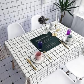 Beautiful Pattern Waterproof Anti-scalding Rectangle Cotton and Linen Table Cloth, Size: 180 x 140cm