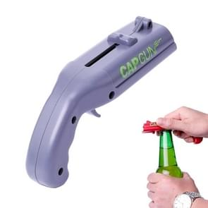 Creative Beer Bottle Opener Cap Catapult Kitchen Bar Tool(Grey)