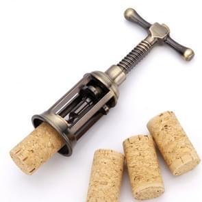 Retro Zinc Alloy Wine Bottle Corkscrew Opener Kitchen Bar Tool