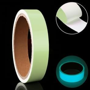 Luminous Tape Green Glow In Dark Wall Sticker Luminous Photoluminescent Tape Stage Home Decoration, Size: 1cm x 3m (Ice Blue Light)