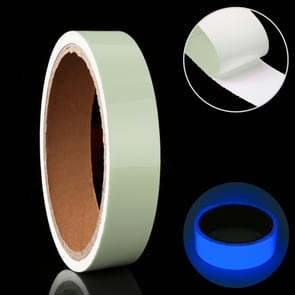 Luminous Tape Green Glow In Dark Wall Sticker Luminous Photoluminescent Tape Stage Home Decoration, Size: 1cm x 3m (Blue Light)