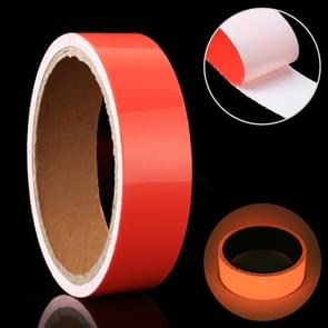 Luminous Tape Green Glow In Dark Wall Sticker Luminous Photoluminescent Tape Stage Home Decoration, Size: 2cm x 3m (Red Light)