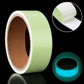 Luminous Tape Green Glow In Dark Wall Sticker Luminous Photoluminescent Tape Stage Home Decoration, Size: 3cm x 3m (Ice Blue Light)
