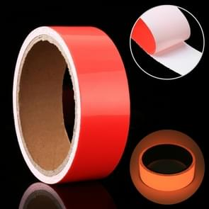 Luminous Tape Green Glow In Dark Wall Sticker Luminous Photoluminescent Tape Stage Home Decoration, Size: 3cm x 3m (Red Light)
