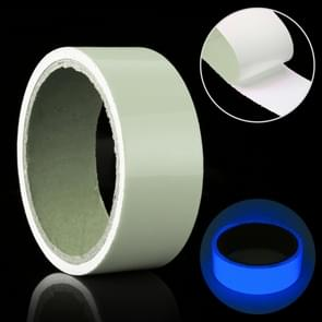 Luminous Tape Green Glow In Dark Wall Sticker Luminous Photoluminescent Tape Stage Home Decoration, Size: 4cm x 3m (Blue Light)