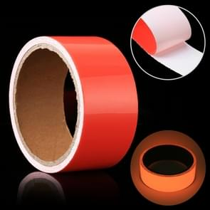 Luminous Tape Green Glow In Dark Wall Sticker Luminous Photoluminescent Tape Stage Home Decoration, Size: 5cm x 3m (Red Light)