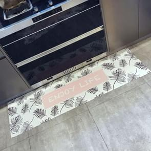 Banana Leaf Pattern Rectangular Bathroom PVC Pad Anti-skid Household Foot Carpet, Size: 150 x 45cm