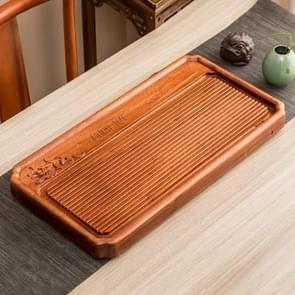 Household Rosewood Rectangle Tea Tray Tea Table, Pondoflotus, S, Size: 62x31x5cm