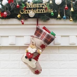 Hang Ornament Kerstmis kousen aanwezig tas  willekeurige stijl-levering