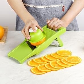 C320 Multifunctionele huishoudelijke keuken groenten Cutter aardappel Rasp (groen)