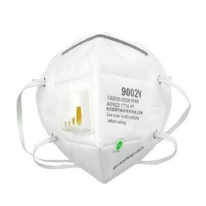3M 25 PCS 9002V N90 Dustproof Anti-PM2.5 Head-mounted Filter Type Mask with Breathing Valve