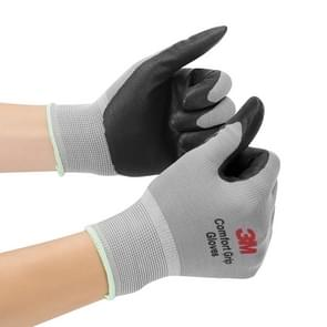 3M Comfortable Non-slip Wear-resistant Nitrile Rubber Electrician Working Gloves, Size: L
