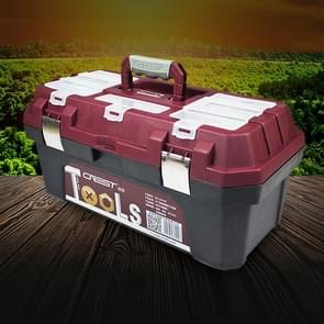 17 inch ABS Multi-function Portable Home Car Repair Tool Storage Box