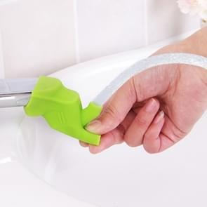10 stuks kinderen siliconen gids trog Extender kraan wassen Device(Green)