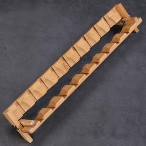 9 Cupholders Creative Bamboo Foldable Kung Fu Tea Set Tea Cup Holder Drainage Rack