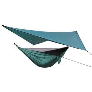 Outdoor Weatherproof Mosquito Net Hammock Backdrop Set