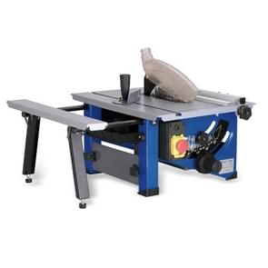 220V 8 inch Household Sliding Wood Table Saw Electric DIY Wood Circular Saw, 100 Tooth Saw Blade