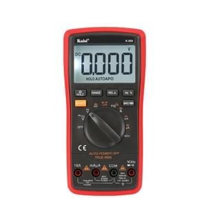 K-890 professionele LCD digitale multimeter elektrische handheld digitale multimeter tester