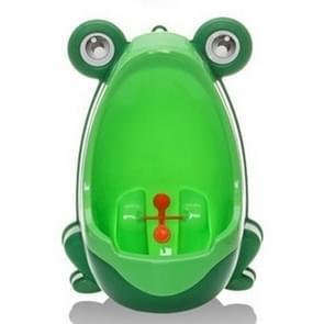 Cartoon / wandmodel onbenullige Toilet(Green) van het jonge geitjes van de vorm van de kikker