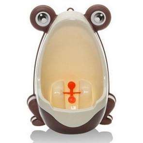 Cartoon / wandmodel onbenullige Toilet(Brown) van het jonge geitjes van de vorm van de kikker