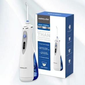 Waterpulse V400Plus Rechargeable Dental Cordless Oral Irrigator with Travel Case, Plug: US