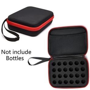 24 flessen Diamond Painting Accessoires Container Storage Bag Box Carry Case Diamond Borduurwerk Handtas  zonder flessen