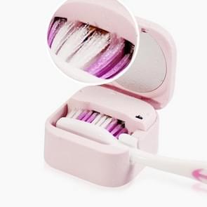 UVC Light Desinfection Tandenborstel Steriler Clean Brush Box (Roze)